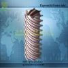 Twisting cupronickel heat transfer tube