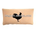 Cotton Antique Cock Decorative Pillow