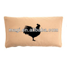 Cotton Antique Cock Decorative Pillow