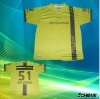 Sublimation new style V-neck soccer/football jerseys
