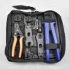 MC4 solar crimping tool kit, MC4 solar crimping tool+MC4 spanner+MC4 solar connector+MC4 stripping tool+die of MC3 crimping tool