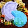 R1031 Valentine's gift silicone conch molds zibo nicole soap molds new soap molds silicone rubber handmade soap mold silicone