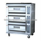 Deck Oven TT-O38E European Design 3-layers 6-tray Gas Oven