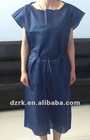 disposable medical isolation gown with short sleeve