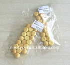 Small animal food treats: Crisp Steamed bread biscuit, nutritious and tasty pet food, adding whole milk powder and cheese