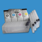 Double 4 color bulk ink system for Mimaki JV3 SS1printer