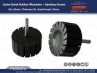 Spiral Band Rubber Mandrels - Sanding Drums/drum rubber 50*20(mm)