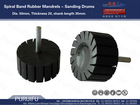 Spiral Band Rubber Mandrels - Sanding Drums/drum rubber 50*20(mm)