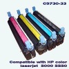 Toner cartridge for HP C9730A/31A/32A/33A