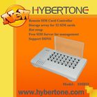 Hybertone 32 SIM Cards Remote Contorl Manager,with free SIM Server Software
