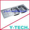 Stainless steel kitchen sink ,YK-1254R