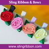 Mix Color Rose Bows Hair Clips & Girls Hair Bows