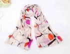 Chiffon wave point fashion scarf shawl