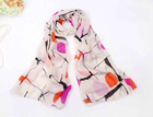 Chiffon wave point fashion scarf shawl