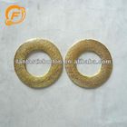nice gold plating plastic buckle for dress
