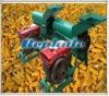 corn shelling and threshing machine