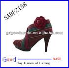 popular vintage high heel shoe felt flower focus