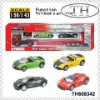 1:43 small metal toy cars