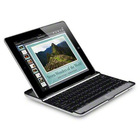 Black Aluminum Case Cover Wireless Bluetooth Keyboard USB Cable For iPad 2 3 New