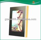 latest design of glass magic mirror photo frame