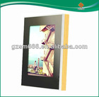 latest design of glass magic mirror photo frame