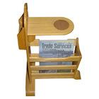 Pine Wood Magazine Rack GR8438