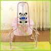 Automatic swing baby crib