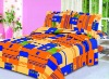 printed polycotton bedding fabric