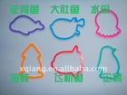 Christmas hot sell,elastic silicone rubber band,gift packing