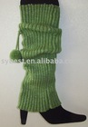 Fashion leg warmer with pompom