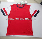 New Season Arsenal Home soccer jersey, football jersey, sportswear, sublimation jersey