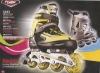 CE 2012 new adjustable inline skates & rollerblade & skate shoes 6043