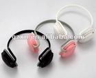 Cheap plug card headphone with blister card packing
