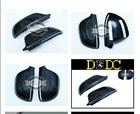 2009-2011 Real Carbon Fiber Side Door Mirror Cover Protecter Caps for Audi A4 B8