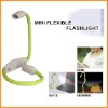 Hands-Free Flexible led flashlight with 4pcs led