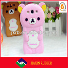 NEW Arrival 2013 cheap custome rilakkuma silicone case for htc