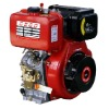 9hp 186F air-cooled single cylinder 4 stroke diesel engine