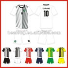 breathable polyester football jersey
