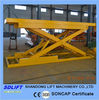cargo scissor lift equipment with 2500kgs