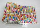 self-adhesive craft die cut DIY gem stickers