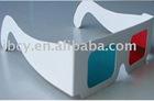 novelty 3d glasses,paper 3D glasses,clear lens 3d glasses,paper passive 3d glasses