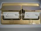 DCT-638/GB Double-row pop-up type Floor Socket
