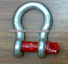 U.S. type bow shackle with screw pin
