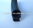 black car door sealing strip