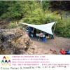 big awning poly tarpaulin tent sheet for outdoor sun shelter