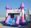 mini inflatable slide,jumping bouncer B3053