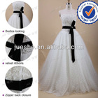 Top Qulaity Classic Strapless A Line Bridal Dress Designs