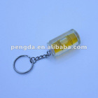 Various Wine bottle Spirit Level Key Chain