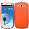 Silicone Rubber Mobile Case For Samsung Galaxy S3 III i9300 Soft Cover Skins Samsung Galaxy S3 Case