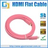 Flat Cable HDMI to HDMI, HDMI Male to Male Flat Cable, HDMI M to M Flat Cable, Support 3D 1080P